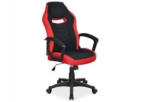 Кресло Camaro Черный/Красный