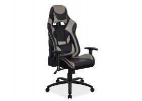 Кресло Supra Черный/Серый