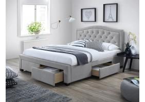 Двуспальная кровать Electra 160X200 Серый