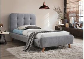 Односпальная кровать Tiffany 90X200 Серый