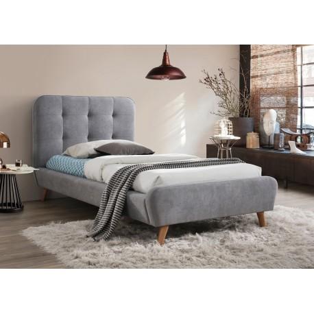 thumb Односпальная кровать Tiffany 90X200 Серый 1