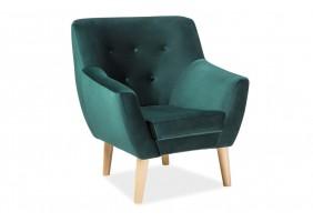 Кресло Nordic 1 Velvet Зеленый