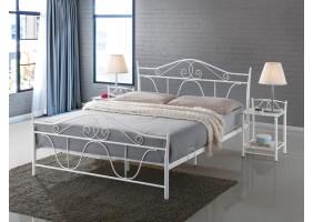 Двуспальная кровать Denver 160X200 Белый