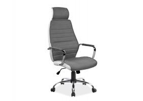 Кресло Q-035 Серый/Белый