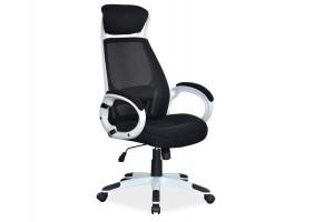 Кресло Q-409 Черный/Белый
