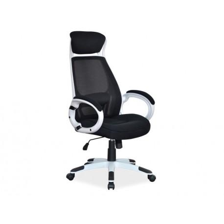 thumb Кресло Q-409 Черный/Белый 1