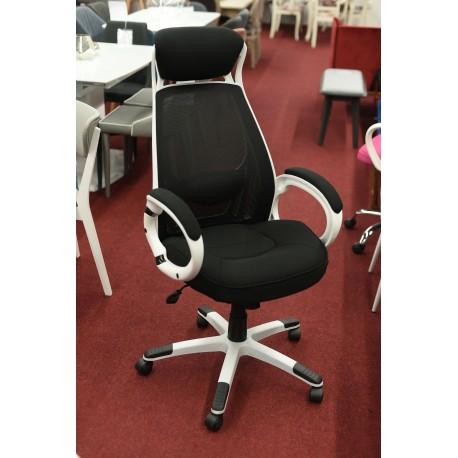 thumb Кресло Q-409 Черный/Белый 3