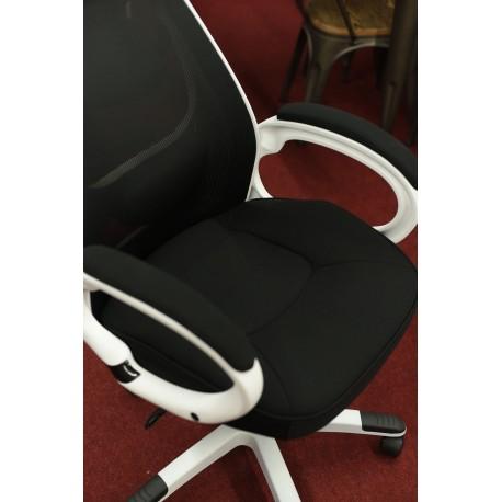 thumb Кресло Q-409 Черный/Белый 4
