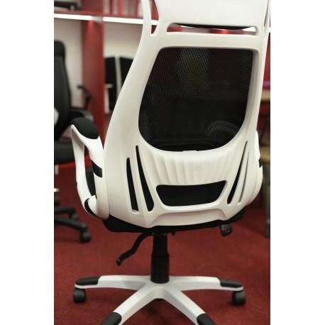 thumb Кресло Q-409 Черный/Белый 5