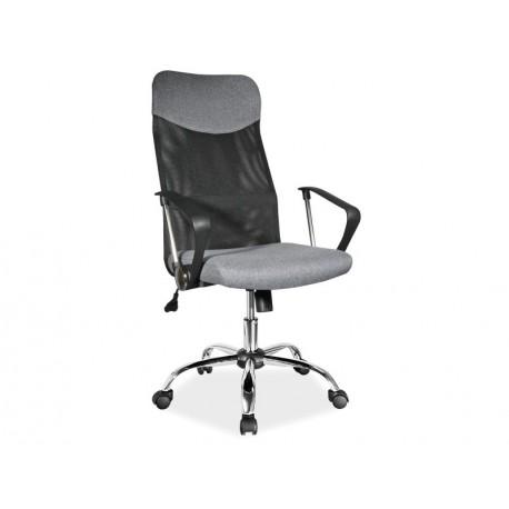 thumb Кресло Q-025 Серый/Черный 1