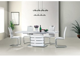 Стол обеденный Fano 160(220)х90 Белый