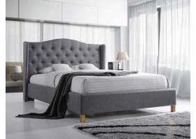 Двуспальная кровать Aspen 180X200 Серый