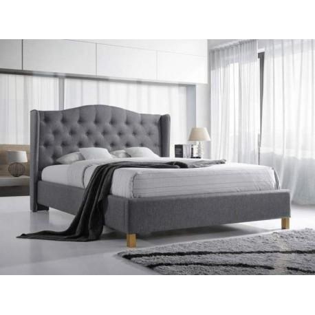 thumb Двуспальная кровать Aspen 180X200 Серый 1