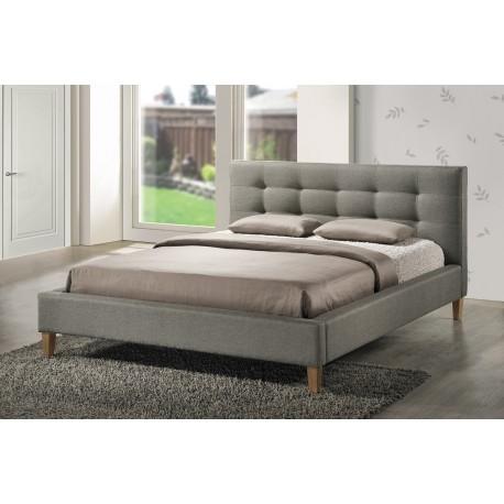 thumb Двуспальная кровать Texas 180х200 Серый 1