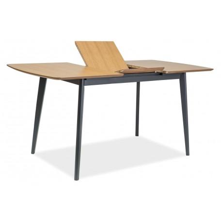 thumb Стол обеденный Vitro II 120(160)х80 Дуб/Графит 4