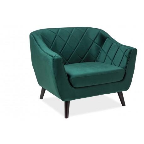 thumb Кресло Molly Velvet 1 Зеленый 1