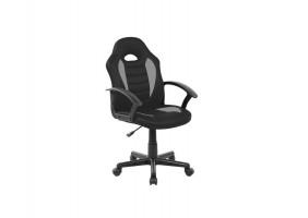 Кресло Q-101 Черный/Серый