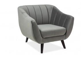 Кресло Elite Velvet 1 Серый