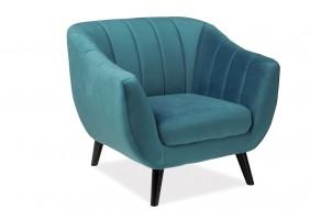 Кресло Elite Velvet 1 Бирюзовый
