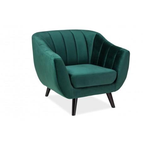 thumb Кресло Elite Velvet 1 Зеленый 1