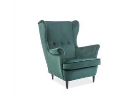 Кресло Lord VELVET Зеленый