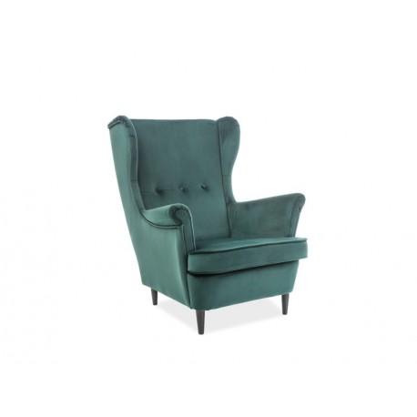 thumb Кресло Lord VELVET Зеленый 1