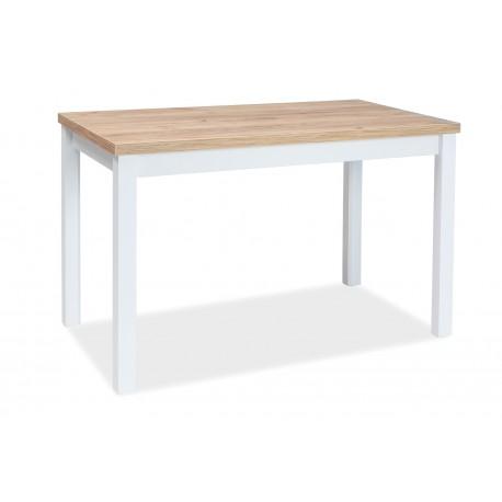 thumb Стол обеденный Adam 60x100 Дуб Ланцелот/Белый 1