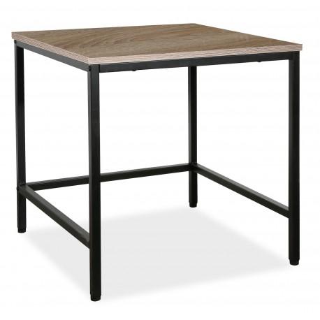 thumb Журнальный стол Meris L2 Дуб/Черный 1