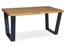 Журнальный стол Valentino B 110х60 Масив Дуб/Черный