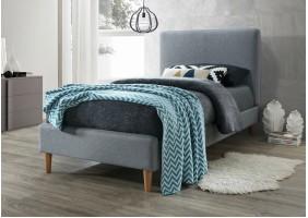 Односпальная кровать Acoma 90X200 Серый