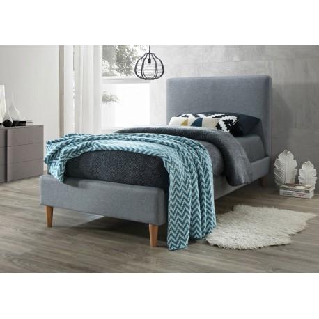 thumb Односпальная кровать Acoma 90X200 Серый 1