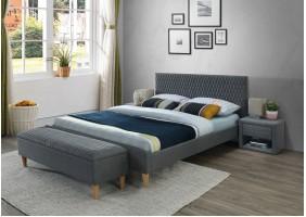 Двуспальная кровать Azurro 140X200 Серый