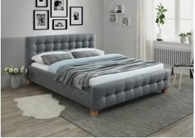 Двуспальная кровать Barcelona 160X200 Серый