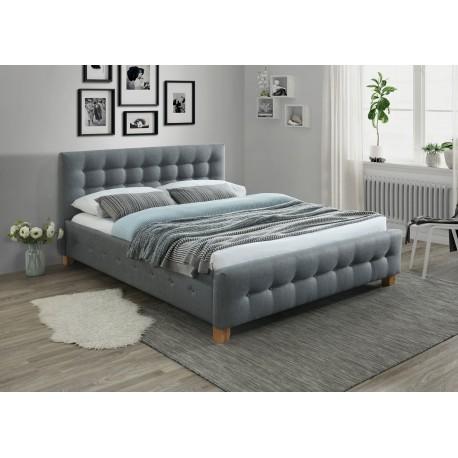 thumb Двуспальная кровать Barcelona 160X200 Серый 1
