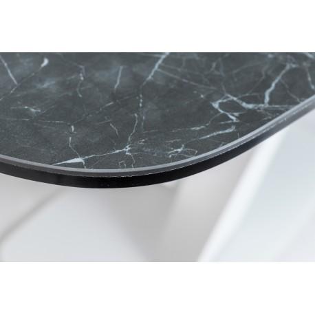 thumb Стол обеденный Cassino II Ceramic 90х160 Графит/Белый Мат 4