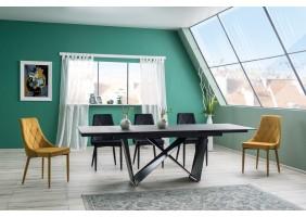 Стол обеденный Cavalli 90x160 Черный Мат