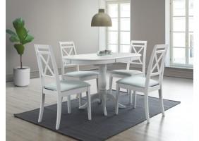 Стол обеденный Dello 70х100 Белый