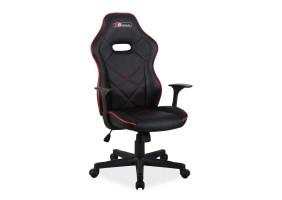 Кресло Boxter Черный/Красный