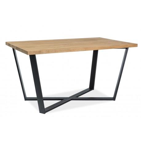 thumb Стол обеденный Marcello 150x90 Натуральный Шпон/Черный 2