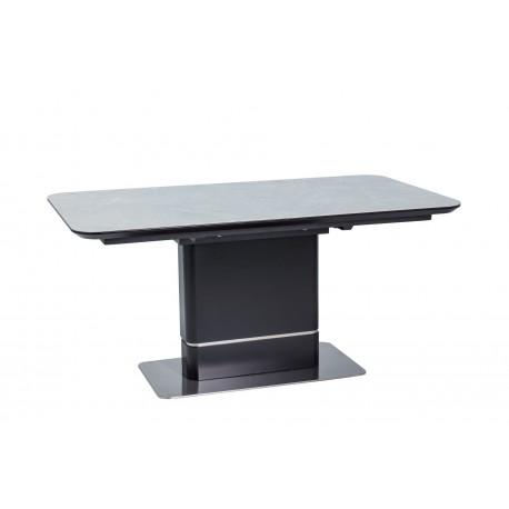 thumb Стол обеденный Pallas Ceramic 160х90 Эфект Мармура/Черный Мат 2
