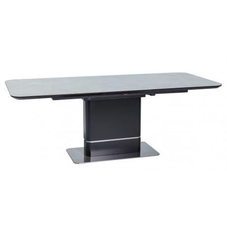 thumb Стол обеденный Pallas Ceramic 160х90 Эфект Мармура/Черный Мат 3