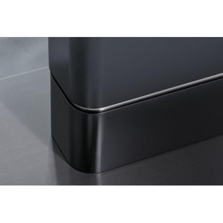 thumb Стол обеденный Pallas Ceramic 160х90 Эфект Мармура/Черный Мат 4
