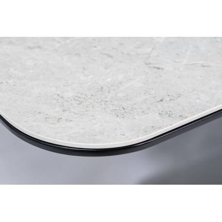 thumb Стол обеденный Pallas Ceramic 160х90 Эфект Мармура/Черный Мат 5