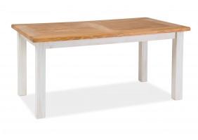 Стол обеденный Poprad II 140х80 Коричневый Медовый/Сосна Патина