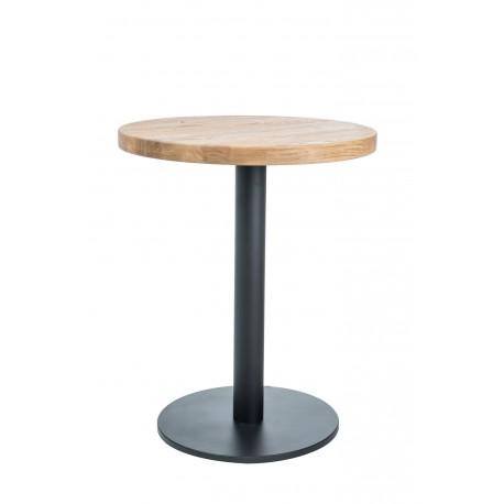 thumb Стол обеденный Puro II 80х80 Масив Дуба/Черный 1