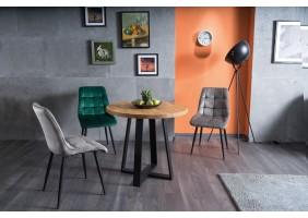 Стол обеденный Vasco 90х90 Масив Дуба/Черный