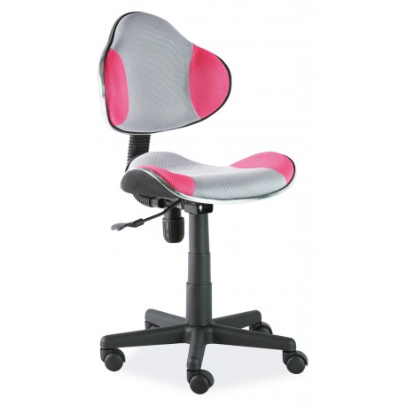 thumb Кресло Q-G2 Серый/Розовый 1