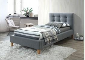 Односпальная кровать Texas 90X200 Серый