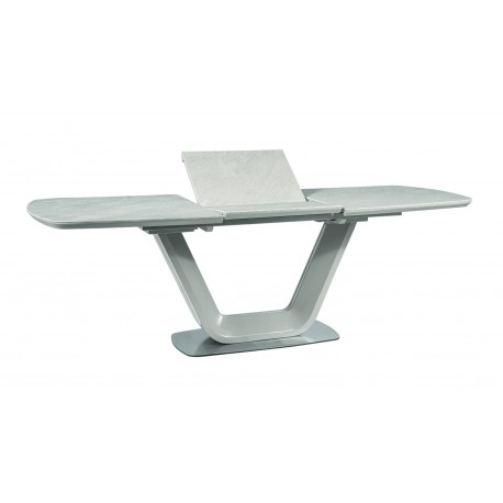 thumb Стол обеденный Armani Ceramic 90х160 Серый 4