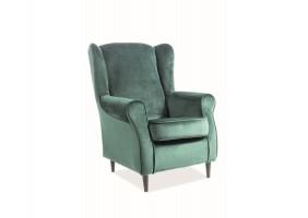 Кресло Baron Velvet Зеленый